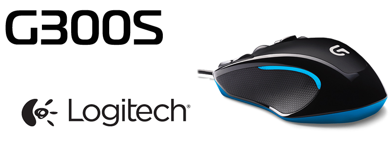 Геймърска Мишка Logitech G300s Optical Gaming Mouse. На супер цена.