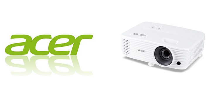 Проектор Acer P1250, DLP 3D, XGA, 3600Lm, 20000/1, 2xHDMI, Bag, EURO Power, MR.JPL11.001