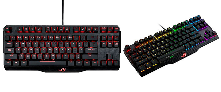 ROG Claymore Core features Cherry MX RGB switches, 100% anti-ghosting with N-Key rollover (NKRO) technology, fully programmable keys and on the fly macro key recording to ensure you always get the winning edge.