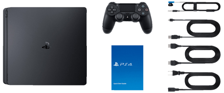 Конзола PlayStation 4 Slim 500GB Black, Sony PS4+Игра MARVEL s Spider-Man за PlayStation 4+Electronic Arts Игра Fifa 21 PS4